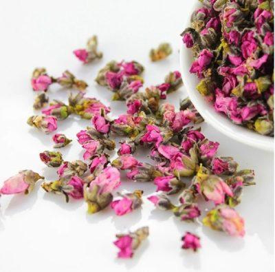 Hoa đào khô trị các bệnh viêm đại tràng mãn tính